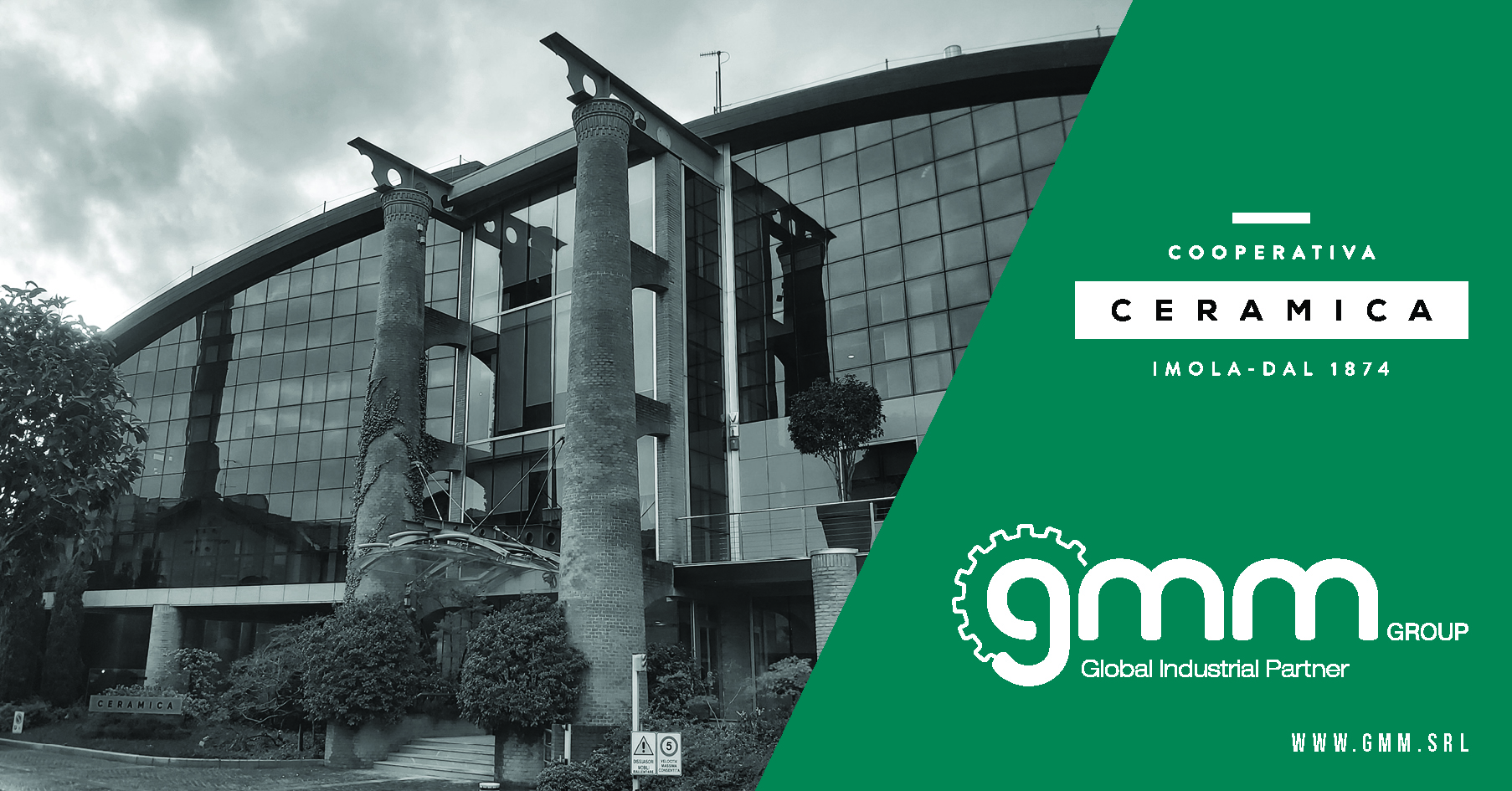 GMM Group: servizi su misura per Cooperativa Ceramica D'Imola